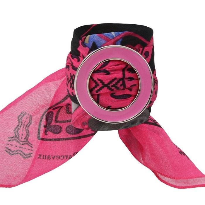Bandana en coton et soie rose africa rose Ines De Parcevaux | La Redoute 100% Garanti Livraison Gratuite 2018 Le Plus Récent 8Z8qzeWb
