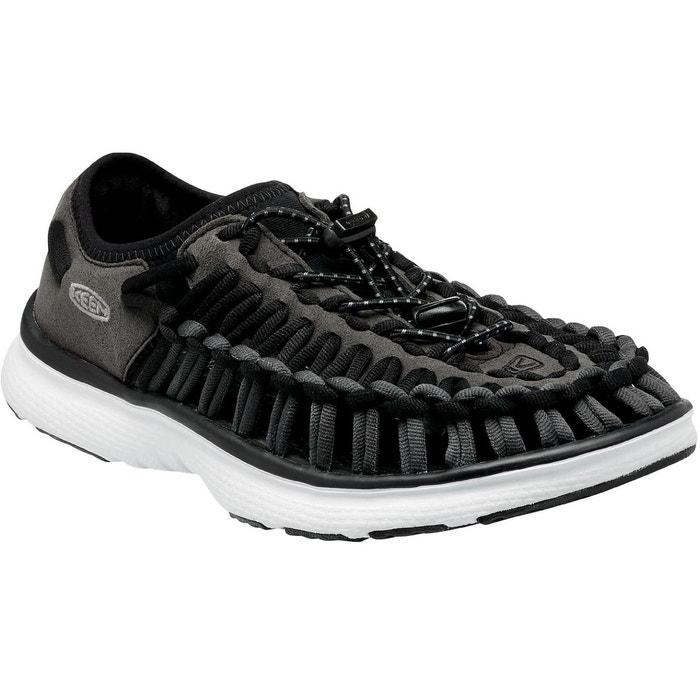 Uneek o2 - sandales - gris/noir noir Keen
