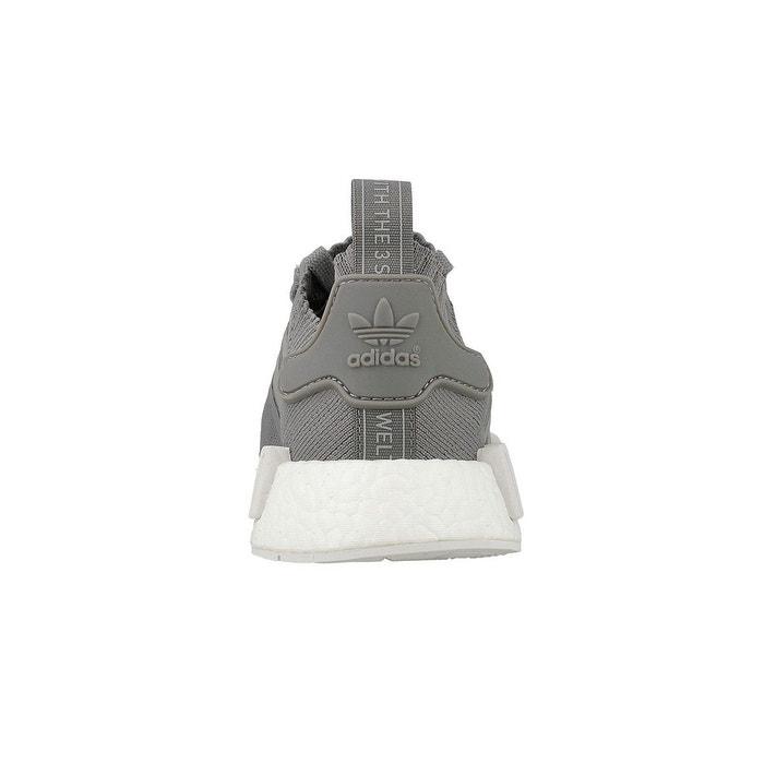 Basket adidas originals nmd r1 primeknit - by8762 gris Adidas Originals