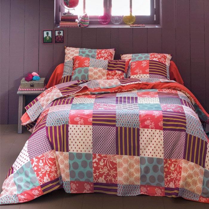 funda n rdica boh me rosa coral ciruela azul la redoute interieurs la redoute. Black Bedroom Furniture Sets. Home Design Ideas