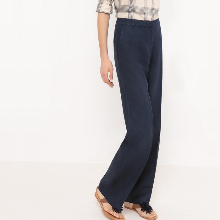 Pantaloni larghi, Lin  La Redoute Collections image 0