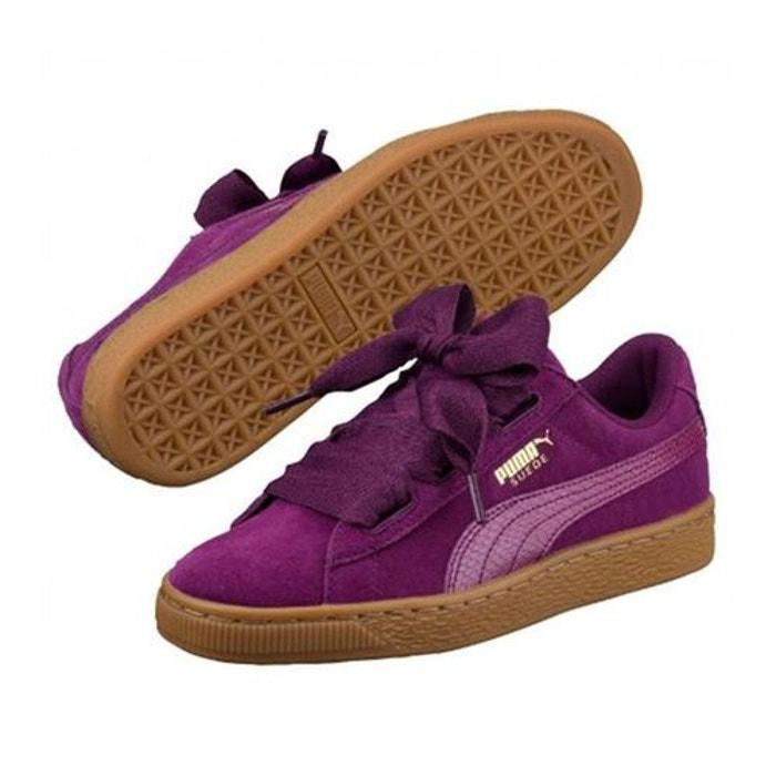 puma chaussures suede