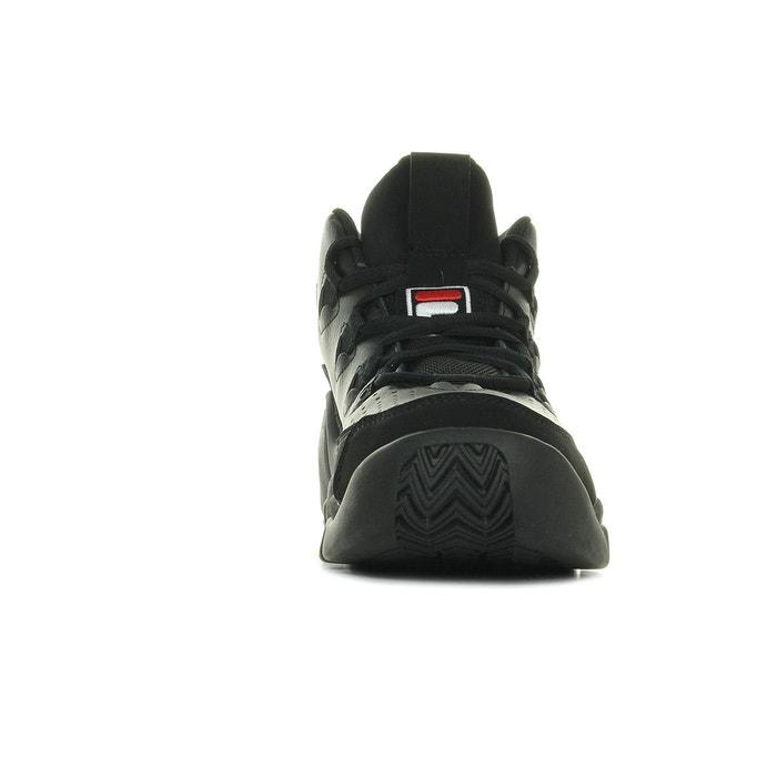 Baskets homme fila 95 black / white / fila red noir Fila