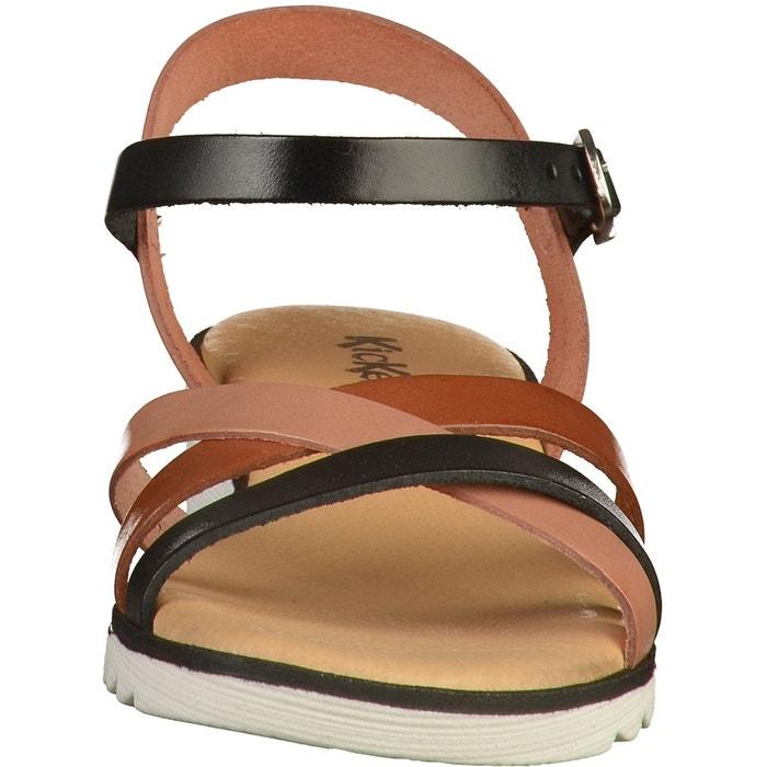 Sandales noir Kickers