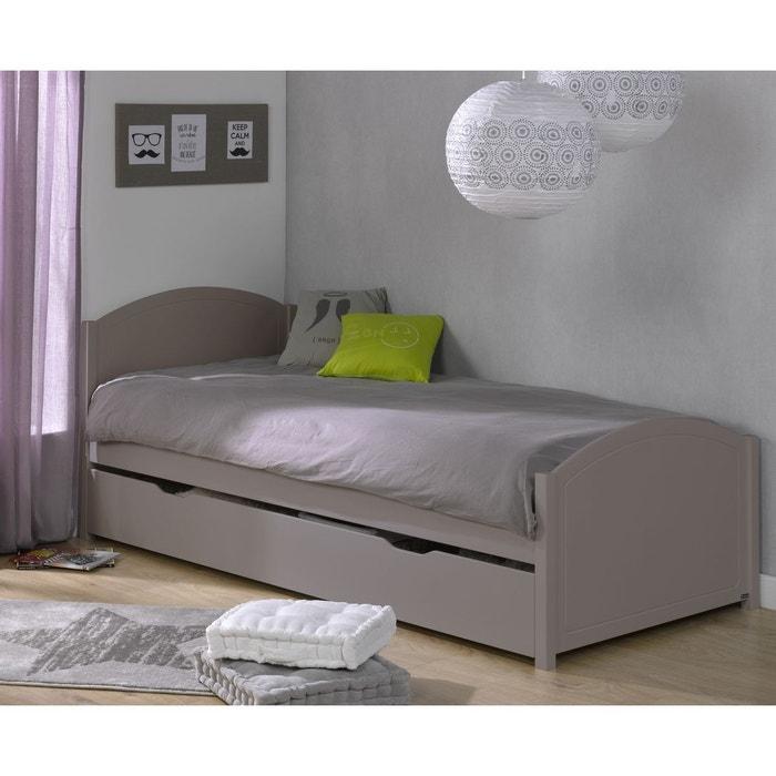 pack lit gigogne 90x200 cl mence lin lin alfred et compagnie la redoute. Black Bedroom Furniture Sets. Home Design Ideas