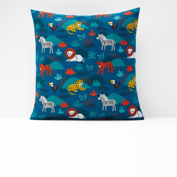 DIEGO Children's Animal Print Cotton Pillowcase  La Redoute Interieurs image 0