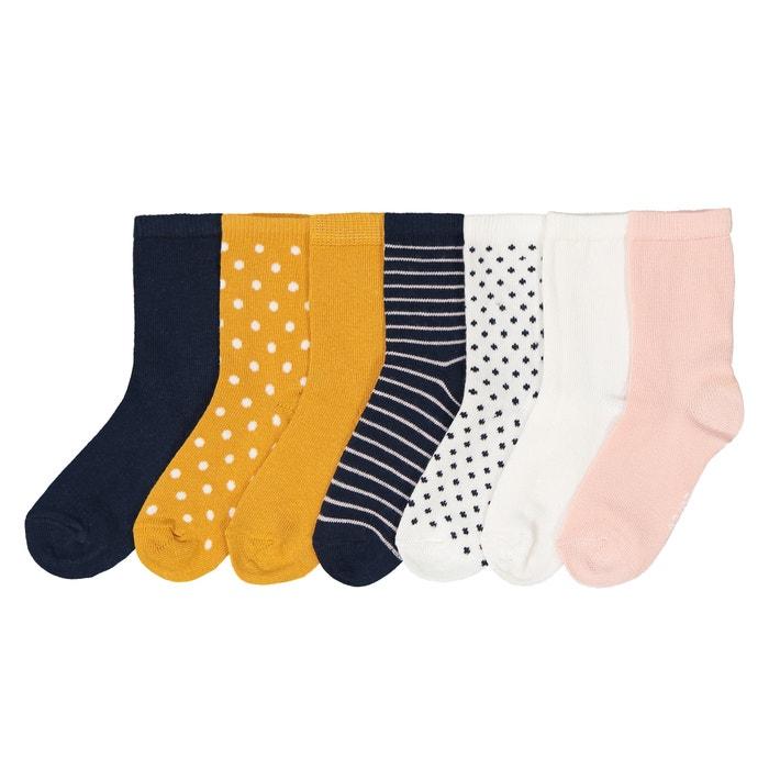 Confezione da 7 paia di calze dal 15/18 al 23/26 Confezione da 7 paia di calze dal 15/18 al 23/26 LA REDOUTE COLLECTIONS