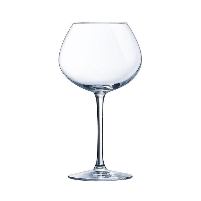 verre vin 47 cl cristal d 39 arques wine emotions vendu par 6 transparent luminarc la redoute. Black Bedroom Furniture Sets. Home Design Ideas