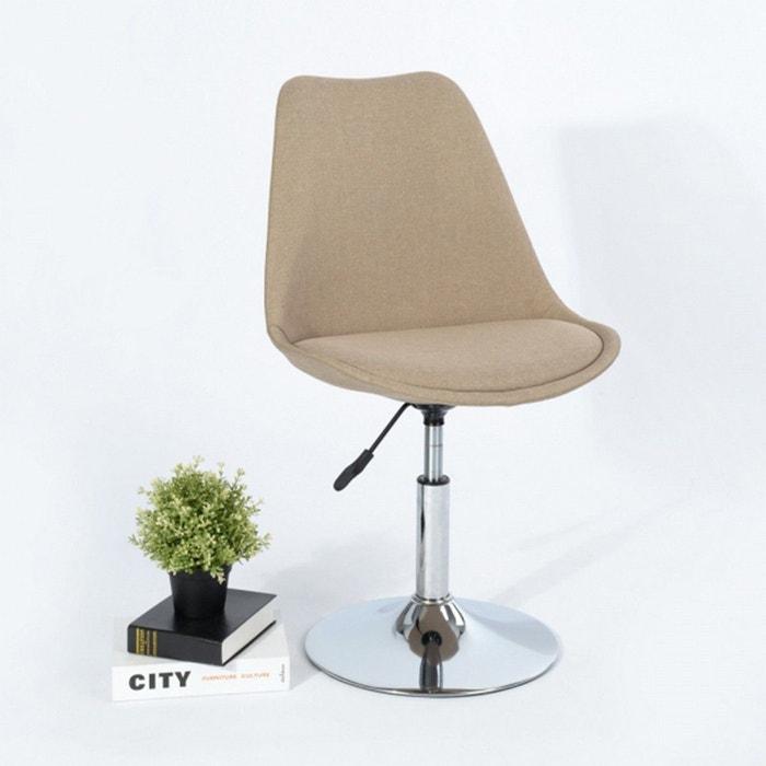 Lot Scandinave Chaise 4 Beige Calicosy Bureau De Design Lj4qAR35