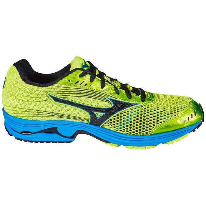 Wave sayonara 3 - chaussures de running - jaune blanc Mizuno