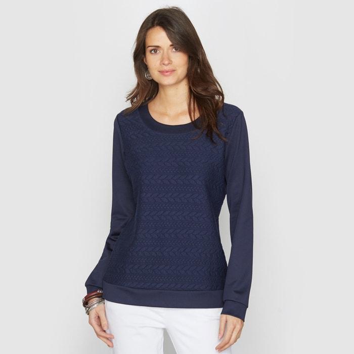 afbeelding Sweater, tricot met reliëf ANNE WEYBURN