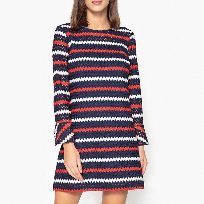 Openwork Knit Dress with 3/4 Length Sleeves  LIU JO image 0