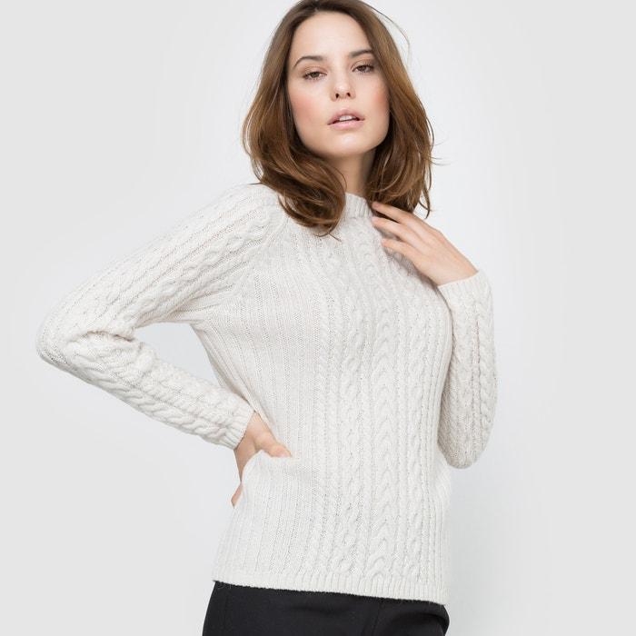 Image Sweter ze splotu warkoczowego atelier R