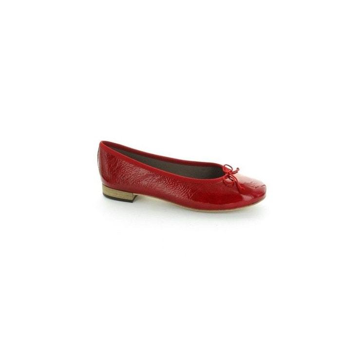 Heller Ballerines  New Rouge Rouge - Chaussures Ballerines Femme