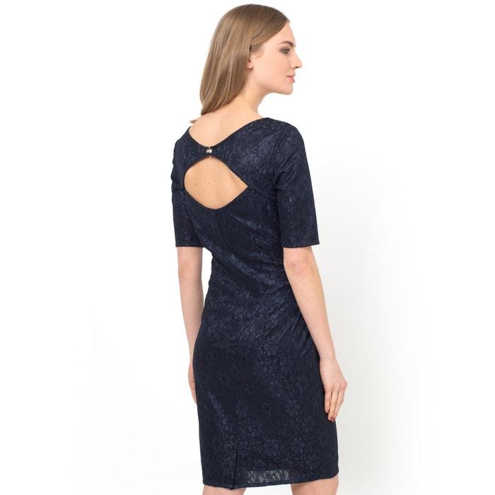 фото Платье прямое кружевное Мини-цена