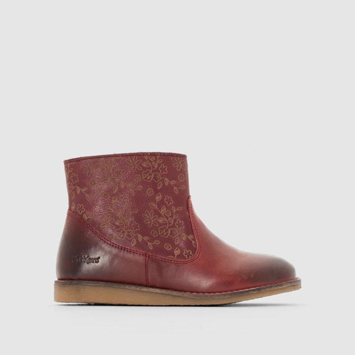 Image Boots détail fleurs FloconBis KICKERS