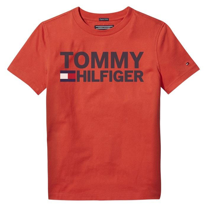 T-shirt em algodão bio 12 - 16 anos  TOMMY HILFIGER image 0