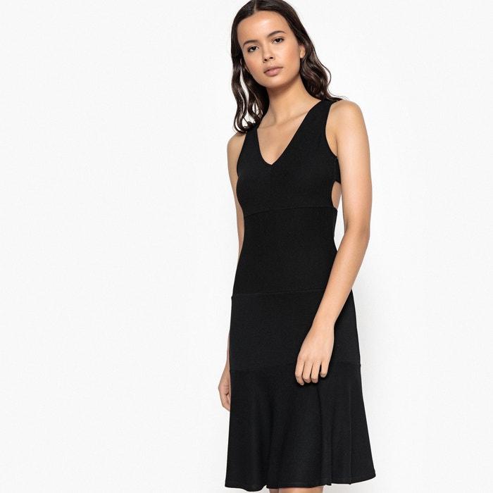 Wijd uitlopende effen korte jurk zonder mouwen  La Redoute Collections image 0