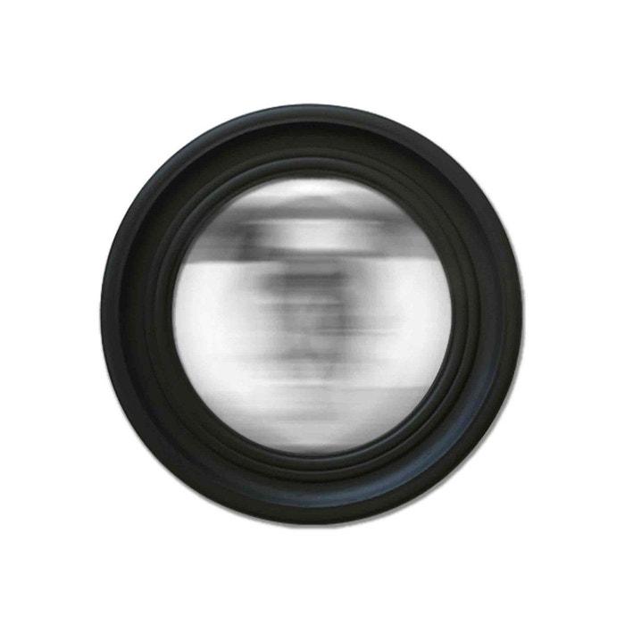 Miroir convexe noir 64cm noir emde premium la redoute for Miroir emde deco