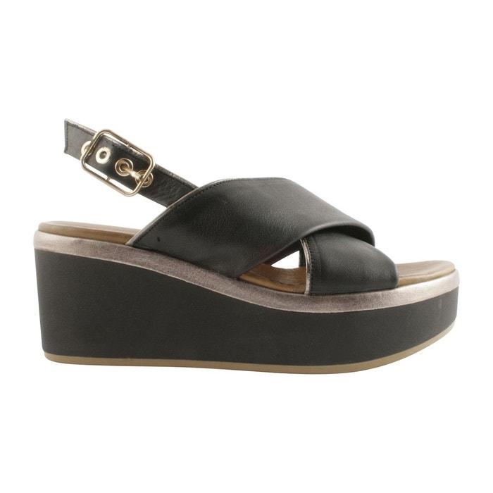 Sandales doris  noir Exclusif Paris  La Redoute