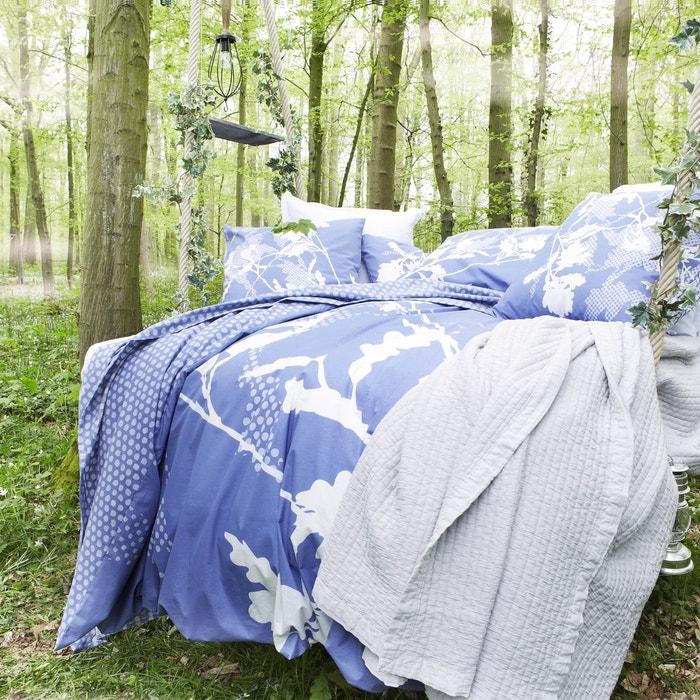 Housse de couette sherwood coton bleu bleu essix la redoute for Housse de couette 240x260 la redoute