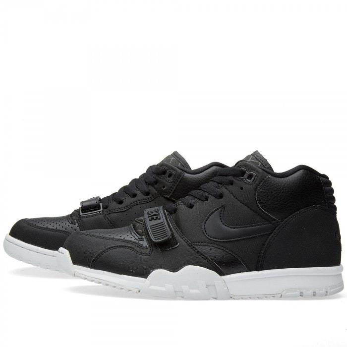 Air trainer 1 mid baskets noires 317554005 noir Nike
