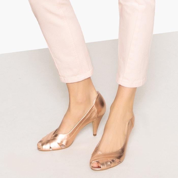 de MADEMOISELLE de piel 243;n tac R brillante retro Zapatos nvxWREv