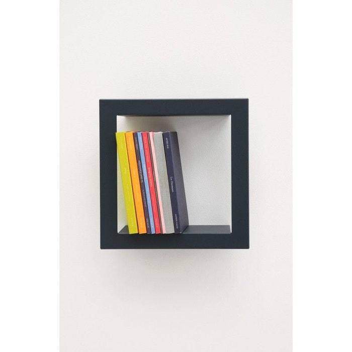 etag re murale carr e stick ardoise acier laqu mat multicolore presse citron la redoute. Black Bedroom Furniture Sets. Home Design Ideas