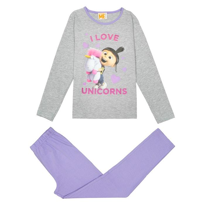 Girls' 2-Piece Pyjamas, 4-10 Years  LES MINIONS image 0