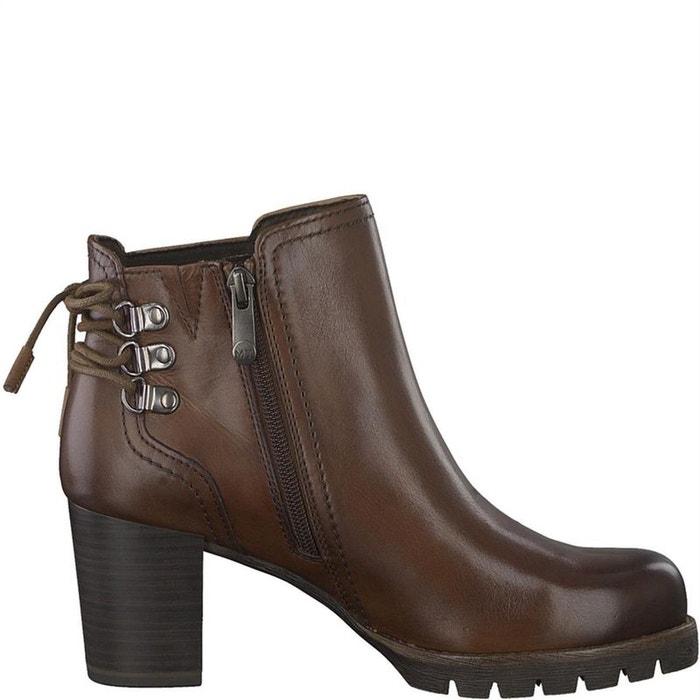 braderie meilleures chaussures boutique de sortie bottines / boots cuir