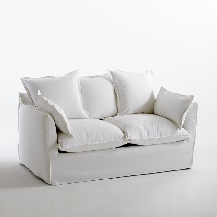 afbeelding Omvormbare canapé in katoen/linnen, Odna, Bultex La Redoute Interieurs