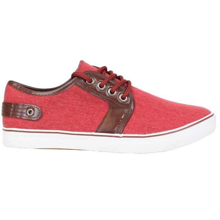 Baskets fl002 rouge Kebello