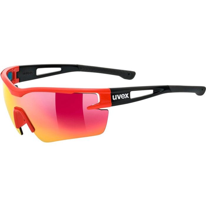 Sportstyle 116 - lunettes cyclisme - rouge noir noir Uvex   La Redoute 890a9524e7d5