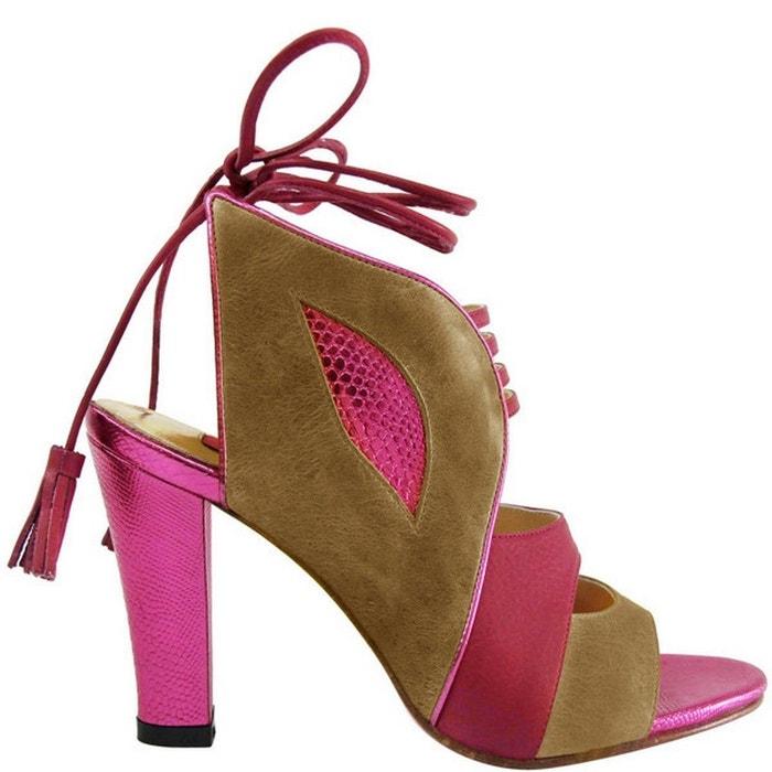 a2b2de147d575 Chaussure femme en cuir kenny Pring Paris