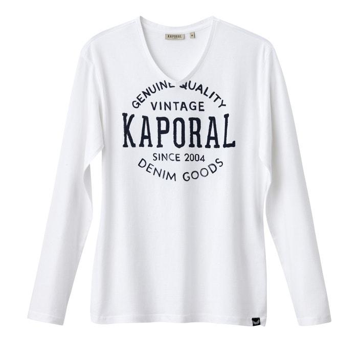 afbeelding T-shirt Tarzu met V-hals KAPORAL 5