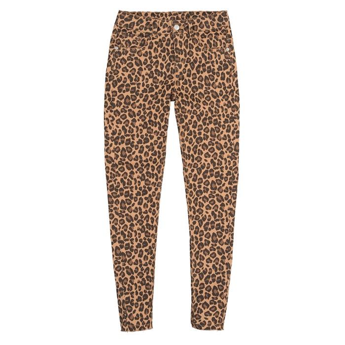 Farben und auffällig moderner Stil günstiger Preis Skinny-Hose mit Leopardenprint 10-16 Jahre