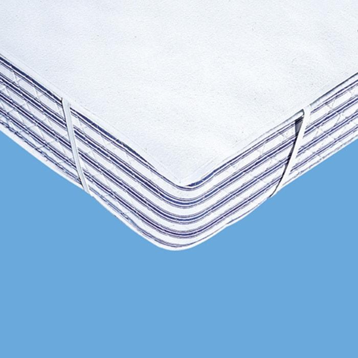 prot ge matelas housse molleton 400 g m blanc reverie la redoute. Black Bedroom Furniture Sets. Home Design Ideas