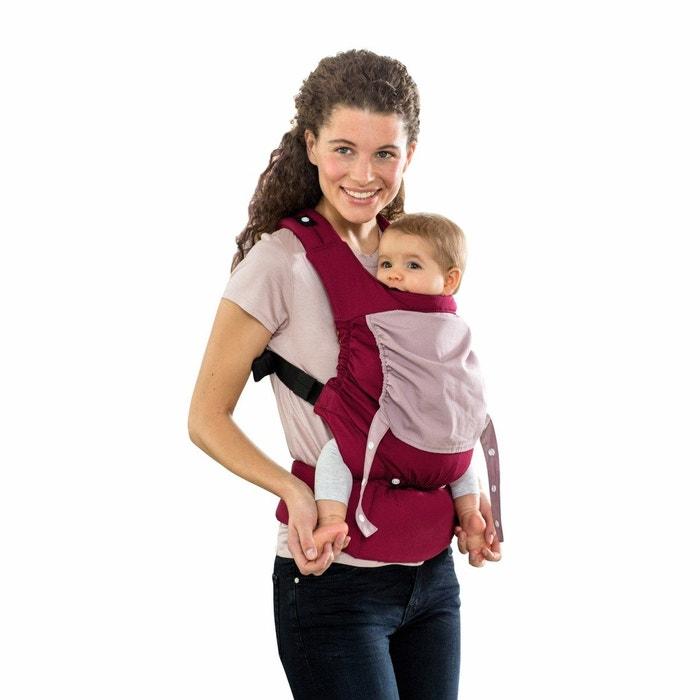 Porte bébé smart carrier bordeaux bordeaux
