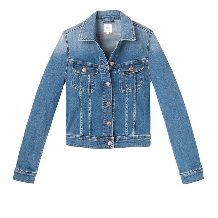 Straight Cut Denim Jacket  LEE image 0
