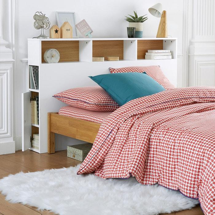 d2ea2d56fe7 Cabecero de cama con organización biface blanco La Redoute Interieurs