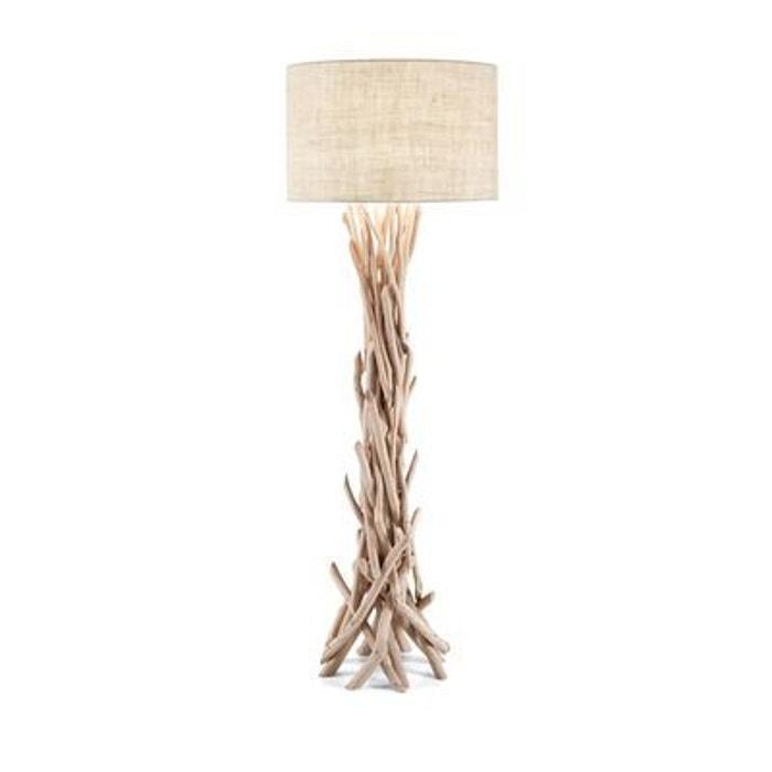 Lampadaire driftwood 1x60w ideal lux 148939 multicolore boutica design - Lampadaires la redoute ...