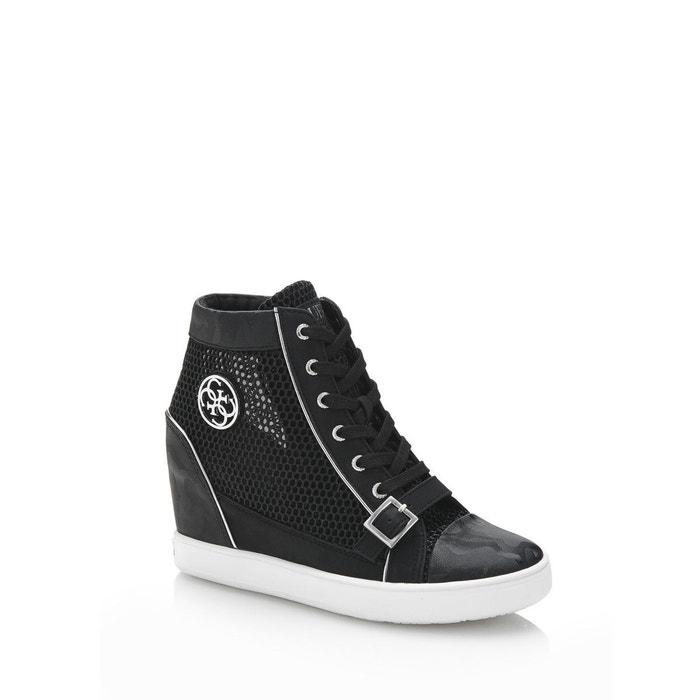 Sneaker compensee fiore ajouree Guess Parfait Pas Cher Ra6S0x2s90