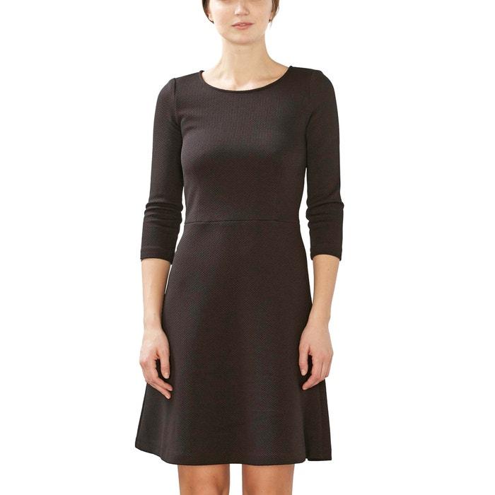 afbeelding Gecentreerde jurk met 3/4 mouwen ESPRIT