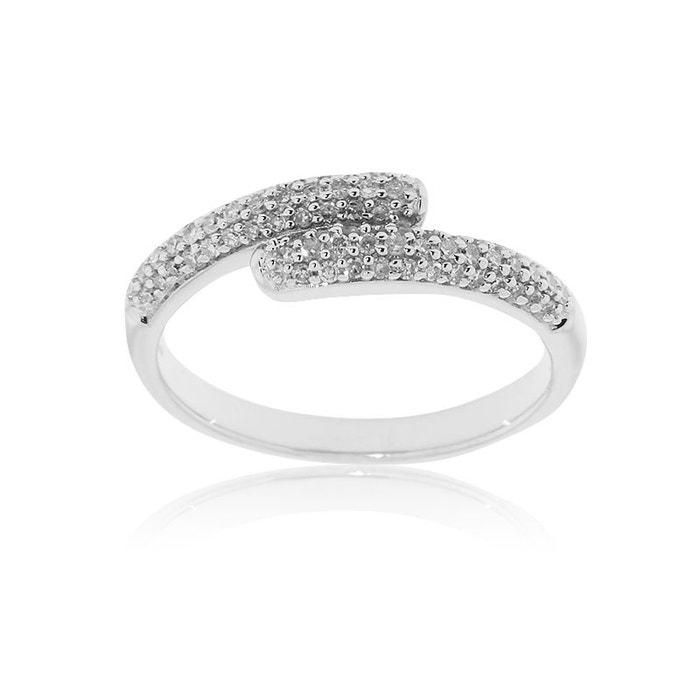Alliance or 375/1000 diamants blanc Cleor | La Redoute