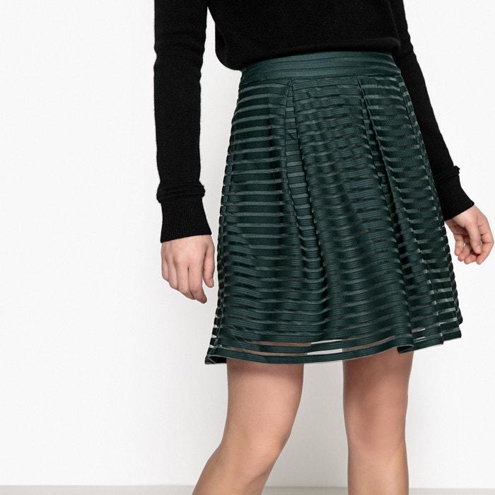 Striped Overlay Skirt  VERO MODA image 0