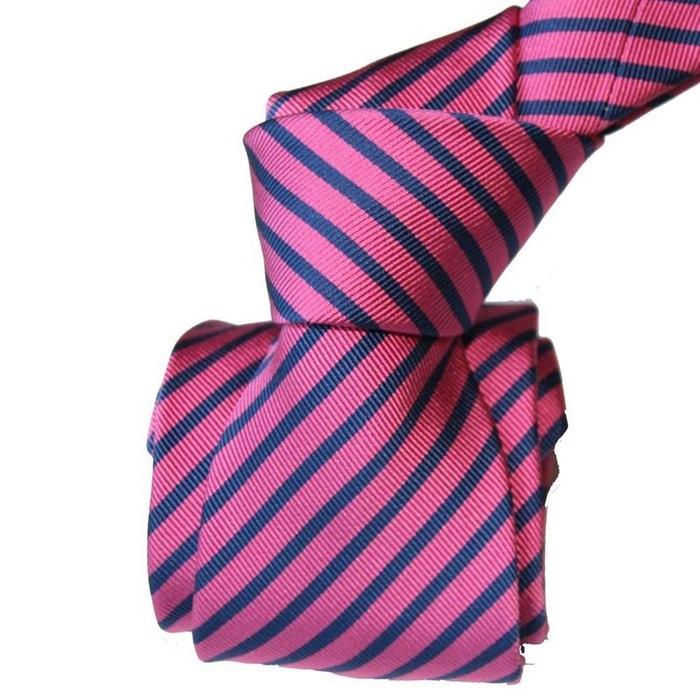 Cravate luxe segni disegni, mogador, brescia, fushia marine rose Segni Et Disegni | La Redoute