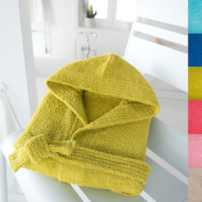 peignoir capuche enfant 350 g m scenario la redoute. Black Bedroom Furniture Sets. Home Design Ideas