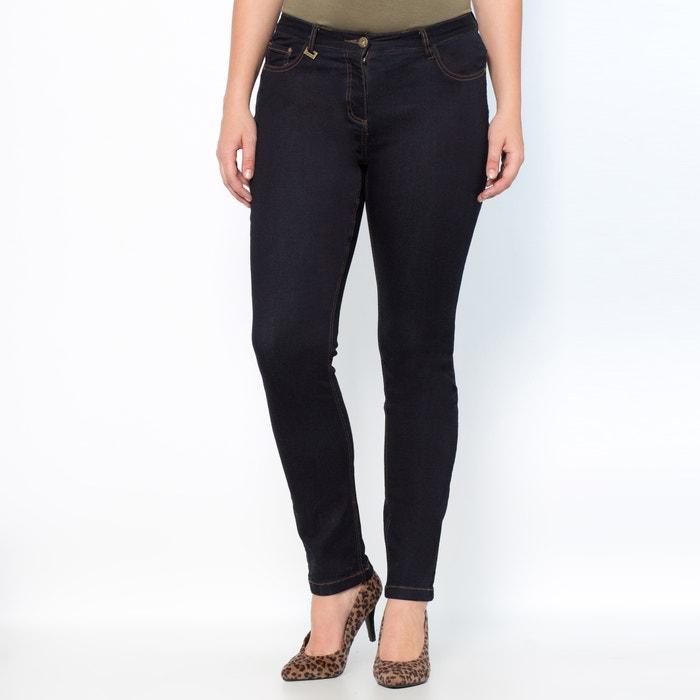 """afbeelding Stretch slim jeans """"weelderige rondingen"""" binnenpijplengte. 73 cm CASTALUNA"""
