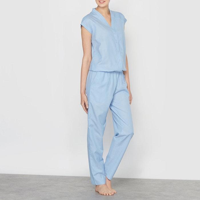 Combinaison pyjama bleu jean clair la redoute collections la redoute - La redoute combinaison ...