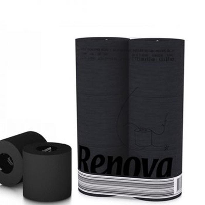 Papier Toilette Noir - 6 Rouleaux Noir Renova | La Redoute